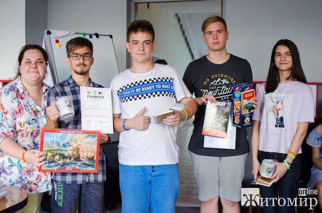 """Літня школа """"Sabios"""" у Житомирі – проект, що виграв грант міського голови! ФОТО. ВІДЕО"""