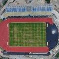 У Житомирі триває реконструкція стадіону «Полісся». ФОТО