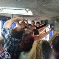 Збільшувати вартість прозду до Коростишева, чи збільшувати транспорт? Люди, їдучи в напрямку Коростишева, не мають як дихнути. ФОТО