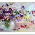 """У Житомирі відбудеться майстер-клас з олійного живопису """"Квіткова ніжність"""""""