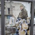 "В Житомирі вандали обмалювали плакат соціального проекту ""Обличчя миру"""
