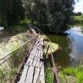 Мешканці села Пилиповичі скаржаться на аварійний міст. ФОТО