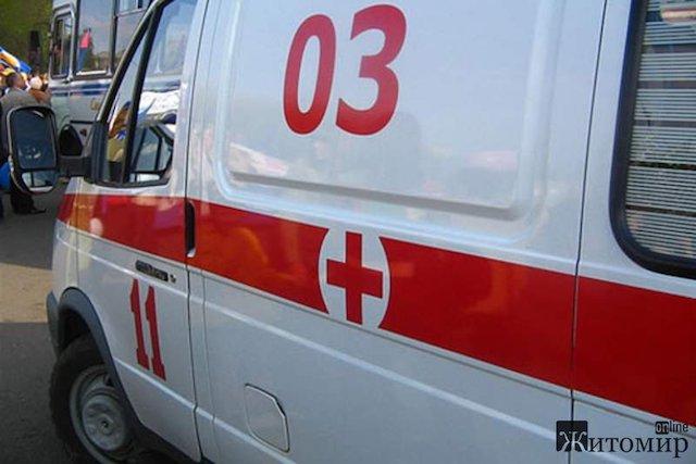На підприємстві в Житомирській області робітник впав з 9-метрової висоти