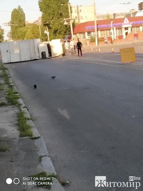 У центрі Житомира вранці сталася страшна ДТП. ФОТО