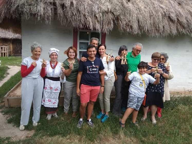 Як на Житомирщині приймали італійських туристів. ФОТО