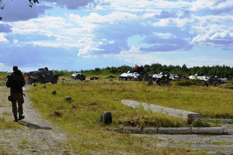 Під Житомиром триває бойове злагодження підрозділів 46 окремої десантно-штурмової бригади