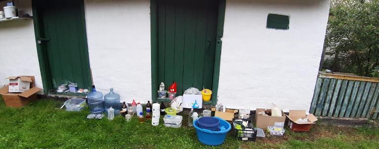 У селі під Житомиром поліція затримала групу осіб, які налагодили наркобізнес