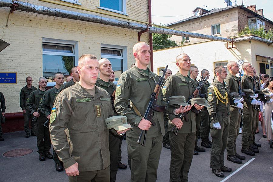 У Житомирі молоді нацгвардійці присягнули на вірність Українському народові