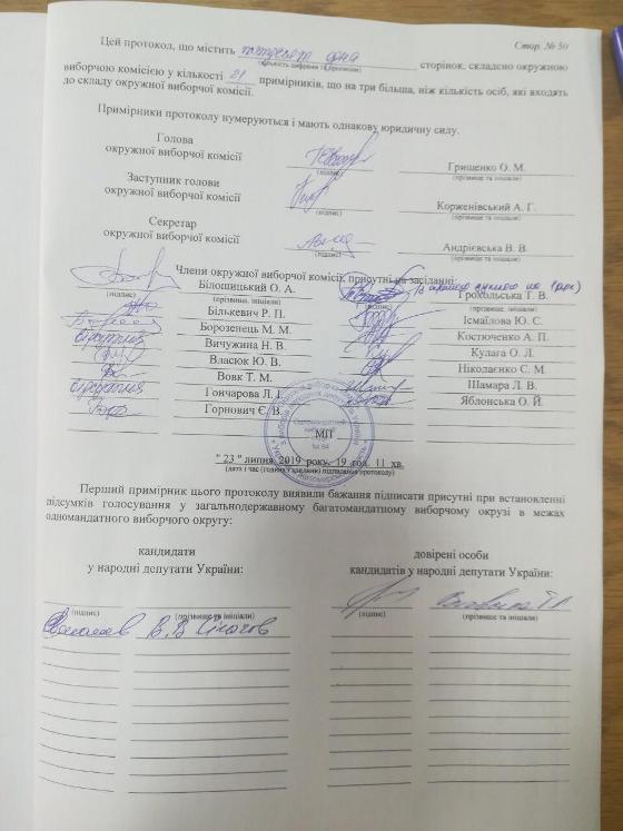 """Кандидат від """"Слуги народа"""" В'ячеслав Сігачов признав свою поразку і привітав з перемогою Володимира Арешонкова. ФОТО. ВІДЕО"""