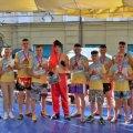 Житомирські спортсмени виграли домашній турнір з кікбоксингу WAKO «Козацька нація»