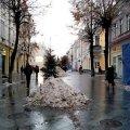 Житомир замовив прибирання тротуарів за 306 тисяч гривень