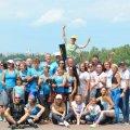 Житомирські команди стали Чемпіонами України з веслування на човнах «Дракон»