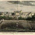 Уникальная цветная гравюра Житомира середины XIX века