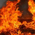 В селі Горбулів двоє сміливців до приїзду пожежників рятували господарство пенсіонера від вогню