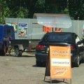 На в'їзді в Малин працює нелегальна газозаправна станція
