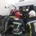 У Корнині у ДТП потрапила фура та мікроавтобус. ФОТО