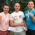 """Спортсмени з Житомирської області здобули три медалі на турнірі з армспорту """"Кубок братів"""""""
