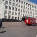 Через повідомлення про замінування з приміщення Житомирської облради евакуювали людей