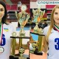 Дві спортсменки з Житомирщини виграли бронзу на чемпіонаті Європи з волейболу сидячи