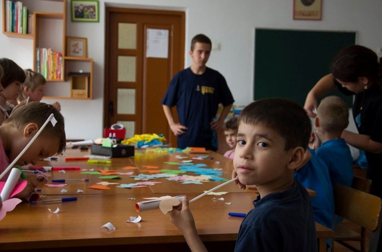 Національні Дружини спільно з Національним Корпусом відвідали дітлахів Житомирського обласного притулку для неповнолітніх