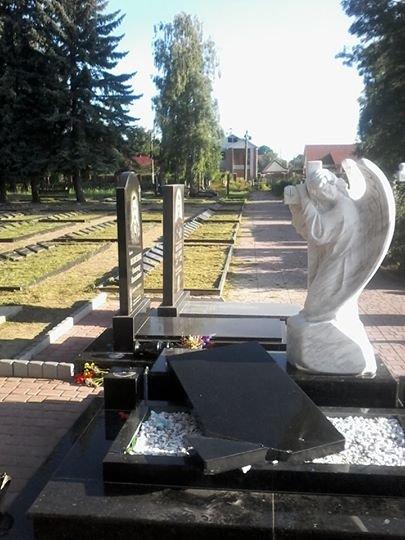 Невідомі спаклюжили могили на «Алеї героїв» в Новограді