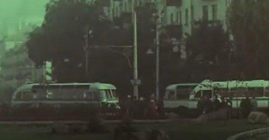 Фрагмент кинохроники 1966 года с видами Житомира. ВИДЕО