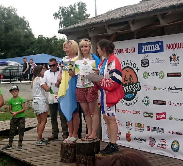 Житомирянка виграла Міжнародний Екомарафон «Світанок Світязя 2019»
