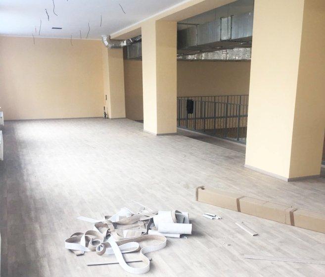 У Радомишлі активно працюють над завершенням реконструкції спорткомплексу «Динамо»