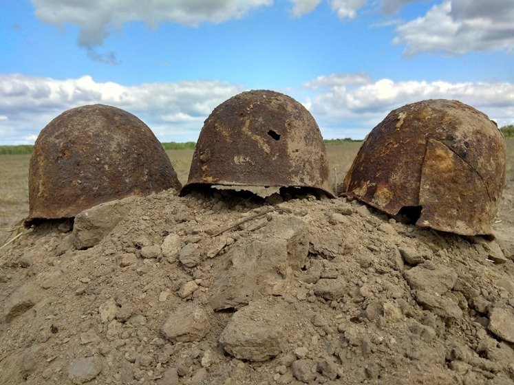 У Новоград-Волинському районі знайшли рештки солдат, які загинули в 1941 році
