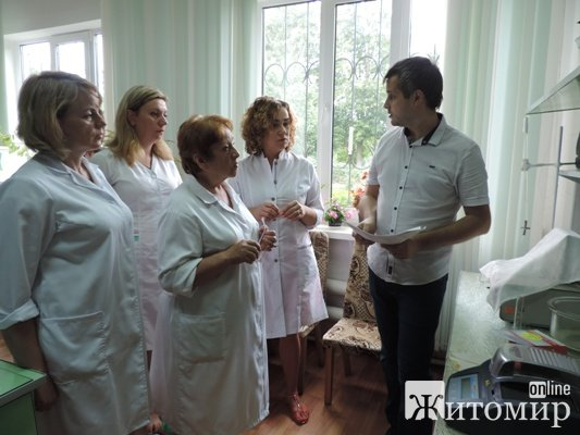 Працівники Житомирводоканалу апробовують нове обладнання