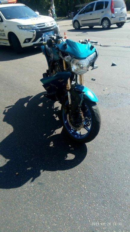 У Житомирі трапилась ДТП з мотоциклом. ФОТО