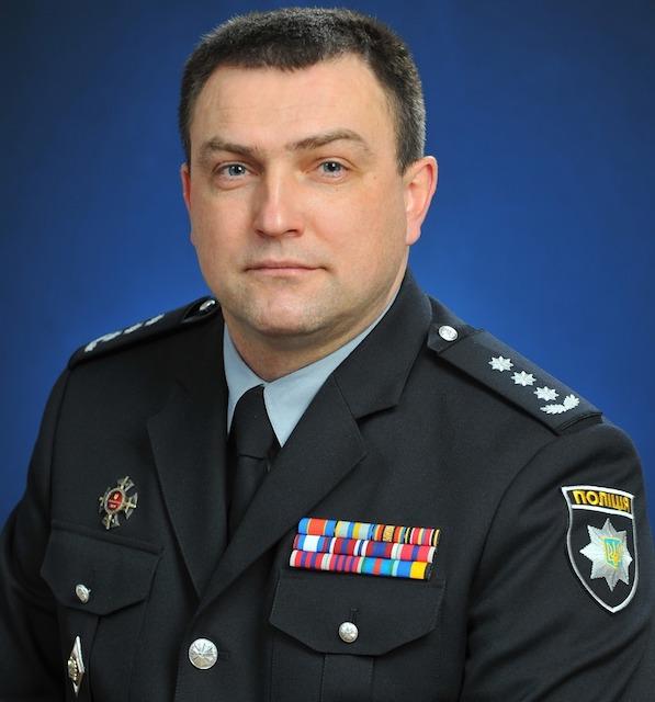 Звільнено голову поліції Житомирської області