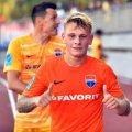 Бердичівлянин відзначився забитим м'ячем у матчі Чемпіонату України з футболу