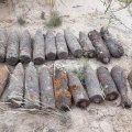 Житомирська область: піротехніки УДСНС знищили 27 боєприпасів, виявлених на полі після жнив