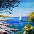 """У Житомирі відбудеться майстер-клас з олійного живопису """"Літо. Море..."""""""
