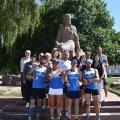 Учасники десятиденного ультрамарафону побували у Новограді-Волинському