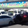 У Житомира внаслідок ДТП перевернулася автівка