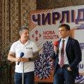 У Житомирі провів тренінг для вчителів фізкультури відомий телеведучий Олександр Педан