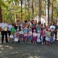 Житомирський рибоохоронний патруль привітав із початком навчального року дітей, які знаходяться на лікуванні в санаторії «Лісовий берег»