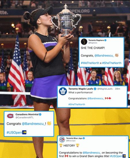 """И поцелуй прямо в корт. Андрееску """"отомстила"""" Уильямс за нашу Свитолину и выиграла US Open"""