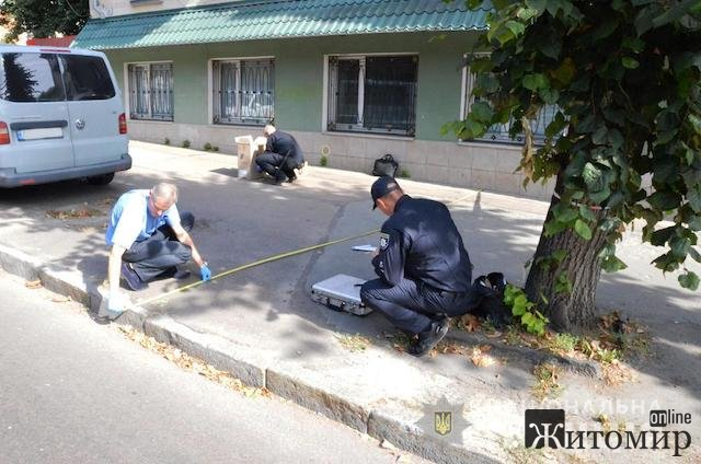 Бандитизм поднимает голову: в Житомире со стрельбой пытались ограбить инкассаторов. ФОТО