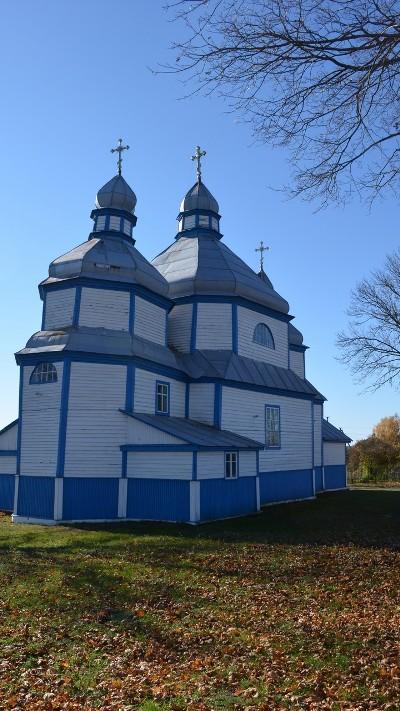 Михайлівська церква на Житомирщині побудована у 1757 році та дзвіниця – 1854 року. ФОТО