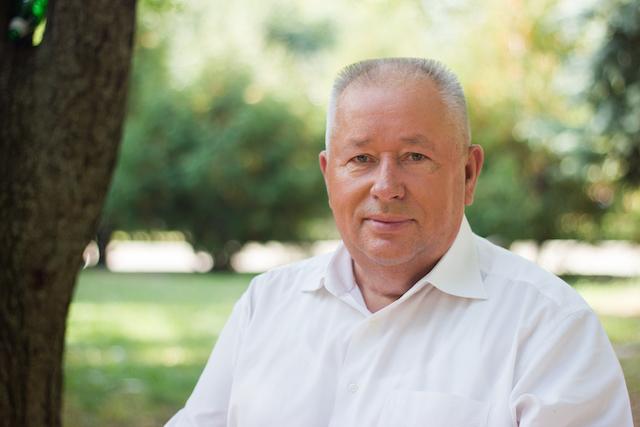 Микола Рудченко вітає усіх з днем Житомира
