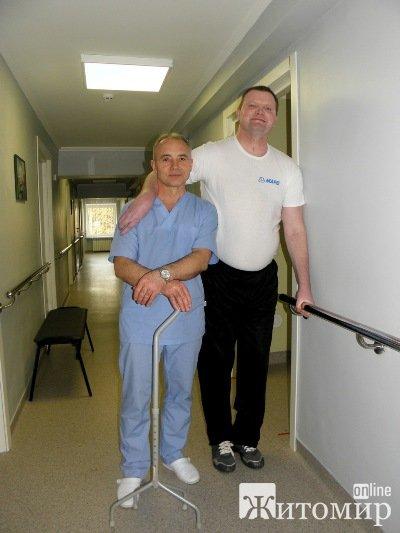 Житомирский медицинский центр вертебрологии и реабилитации: здесь ставят на ноги. В буквальном смысле