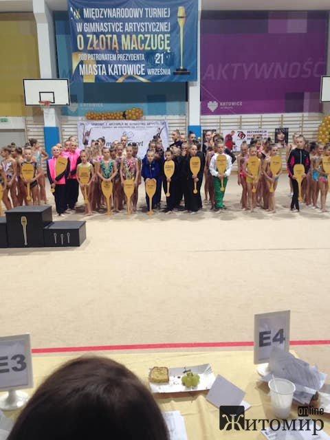 Житомирські юні гімнастки знову привезли медалі з міжнародного турніру. ФОТО