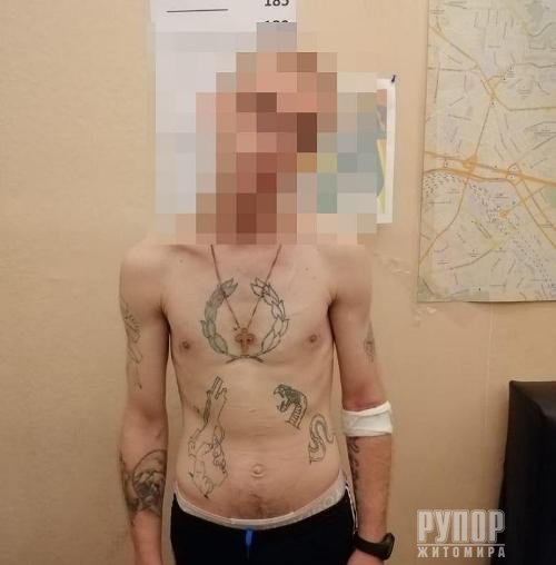 У Житомирі прямо в маршрутці затримали небезпечного злочинця, який у Києві скоїв розбійний напад на підприємця