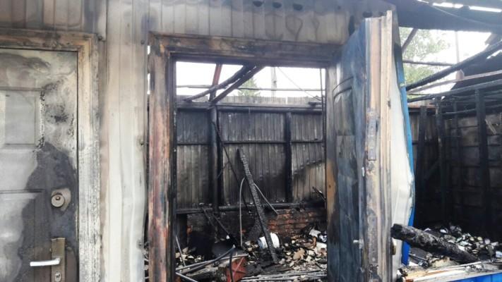 Житомирська область: вогнеборці ліквідували загоряння 4 магазинів