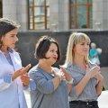 Житомиряни долучилися до флешмобу жестової мови