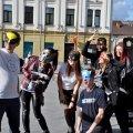 У центрі Житомира відбулися зйомки фільму від організаторів фестивалю «ЖУК»