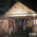 У Житомирі на території гаражного кооперативу виникла пожежа